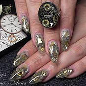 Украшения ручной работы. Ярмарка Мастеров - ручная работа Стимпанк кольцо, перстень, кольцо в стиле стимпанк, часы/ Steampunk. Handmade.