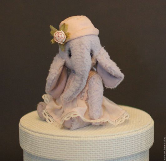 Мишки Тедди ручной работы. Ярмарка Мастеров - ручная работа. Купить Ника. Handmade. Сиреневый, слоник в подарок, вискоза Германия