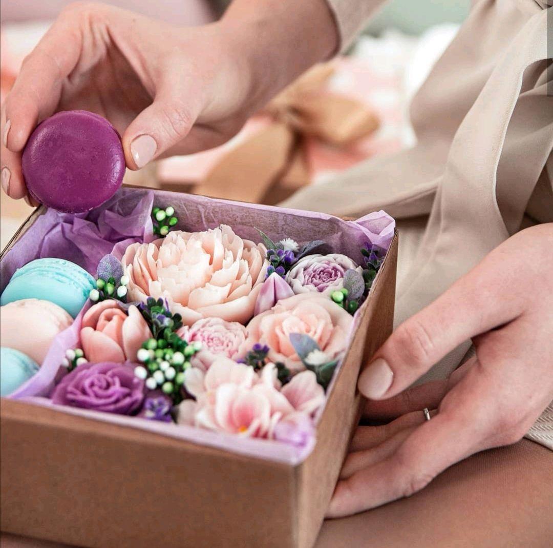 Flower soap box, Composition, St. Petersburg,  Фото №1