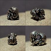 Материалы для творчества manualidades. Livemaster - hecho a mano Baby Elephant charm. Handmade.