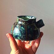 Посуда ручной работы. Ярмарка Мастеров - ручная работа Глиняная турка. Handmade.