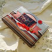 """Подарки к праздникам ручной работы. Ярмарка Мастеров - ручная работа Блокнот """"Наталия Орейро - Цирк"""". Handmade."""