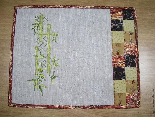 """Текстиль, ковры ручной работы. Ярмарка Мастеров - ручная работа. Купить ланчмат""""восточный"""" 3. Handmade. Ланчмат, сервировка стола, вышивка"""