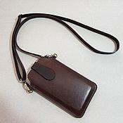 Сумки и аксессуары handmade. Livemaster - original item Phone / smartphone case with adjustable strap.. Handmade.