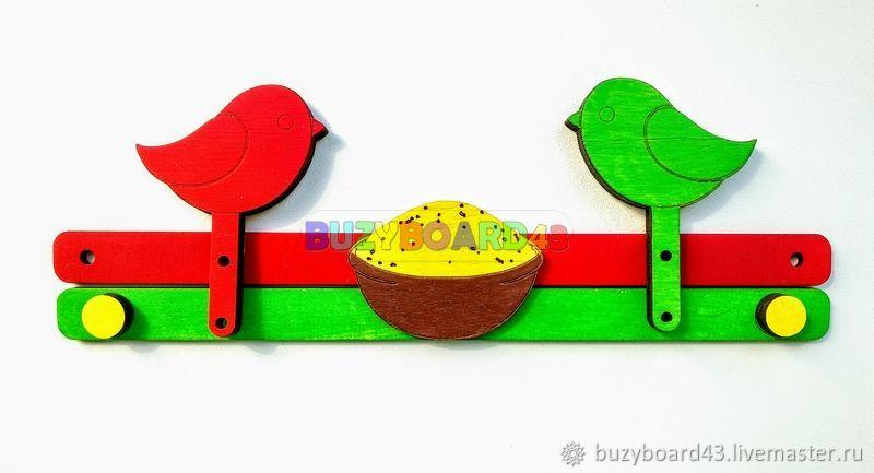 Заготовка для Бизиборда Механизм Птички, Бизиборды, Киров,  Фото №1