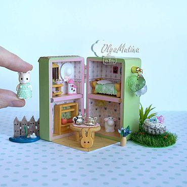 Dolls & toys handmade. Livemaster - original item Copy of House for squirrels. Handmade.