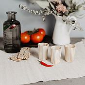 Посуда handmade. Livemaster - original item Set of wooden wine glasses (3#23. Handmade.