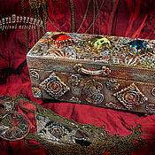 Для дома и интерьера handmade. Livemaster - original item Jewelry box (with a vase) the treasures of AGRA. Handmade.