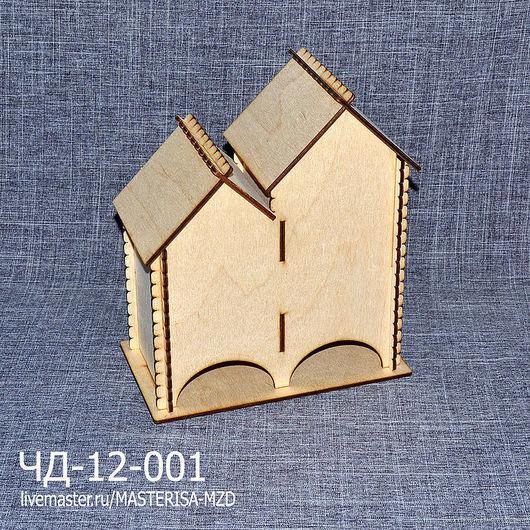 ЧД-12-001. Двойной чайный домик без окон.
