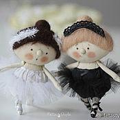 Куклы и игрушки handmade. Livemaster - original item Ballerina White Swan Petite doll. Handmade.