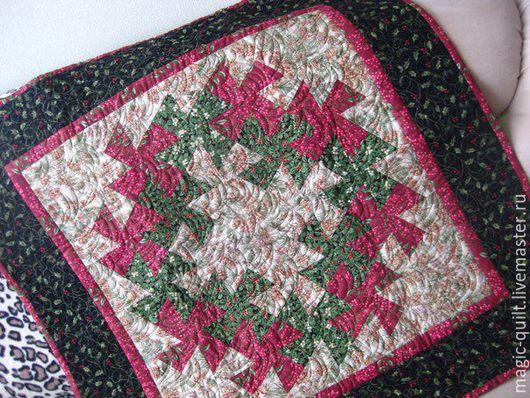 Текстиль, ковры ручной работы. Ярмарка Мастеров - ручная работа. Купить Панно Новогоднее. Handmade. Комбинированный, стежка, зима