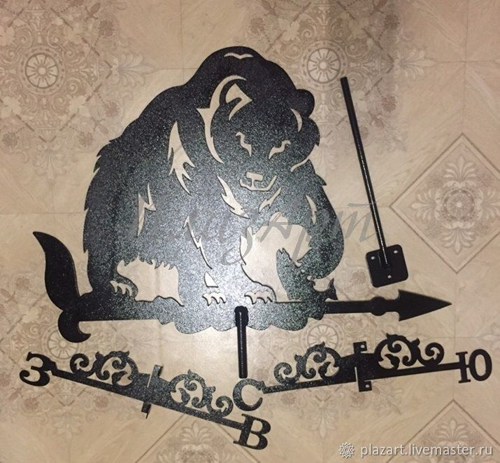 специальные конструкции картинки медведей флюгера могут