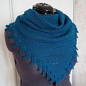 Аксессуары handmade. Livemaster - original item Blue bactus crochet.. Handmade.