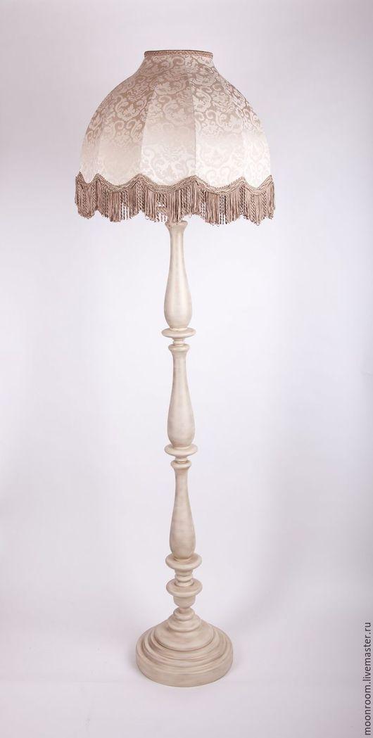 абажур на основании Бристоль (слоновая кость с патинированием)