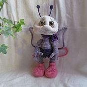 Куклы и игрушки ручной работы. Ярмарка Мастеров - ручная работа бабочка Анюта. Handmade.