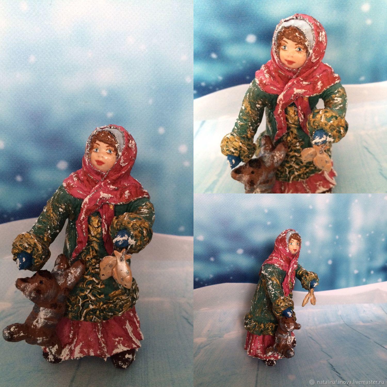 """Ватная игрушка """" Даренка-2"""", Куклы, Москва, Фото №1"""