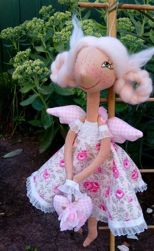 розыгрыш, конфетка, кукла, кукла ручной работы, кукла в подарок, подарок, приз, кукла в розовом, подарок девочке, ангел, ангел в подарок, игрушка