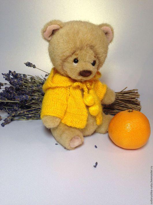 Мишки Тедди ручной работы. Ярмарка Мастеров - ручная работа. Купить Sunny. Handmade. Бежевый, сделано с любовью, металлический гранулят