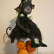 Куклы и игрушки ручной работы. Ярмарка Мастеров - ручная работа Обезьянка Клякса. Handmade.