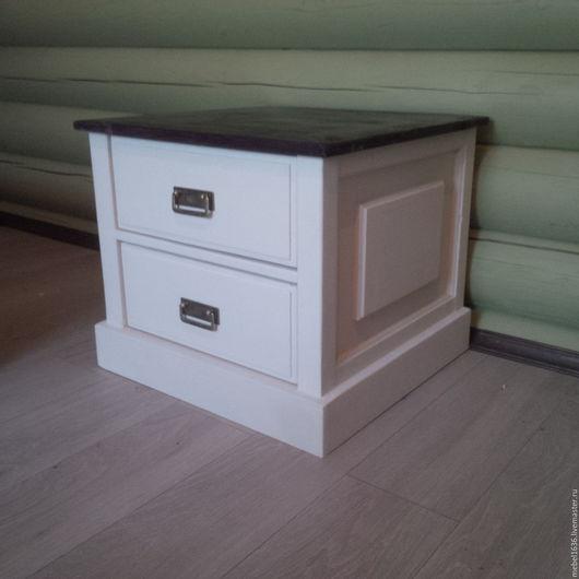 Мебель ручной работы. Ярмарка Мастеров - ручная работа. Купить Тумба с двумя ящиками. Handmade. Комбинированный