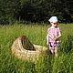 Детская ручной работы. Ярмарка Мастеров - ручная работа. Купить Плетеная люлька (колыбелька) для новорожденного. Handmade. Люлька, детская мебель