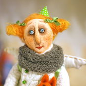 Куклы и игрушки ручной работы. Ярмарка Мастеров - ручная работа Солнечная Эльза. Handmade.