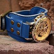 Украшения ручной работы. Ярмарка Мастеров - ручная работа Часы наручные Bluer. Handmade.