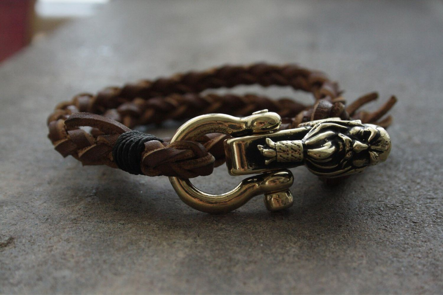 Leather Bracelet Viking Shop Online On Livemaster With Shipping