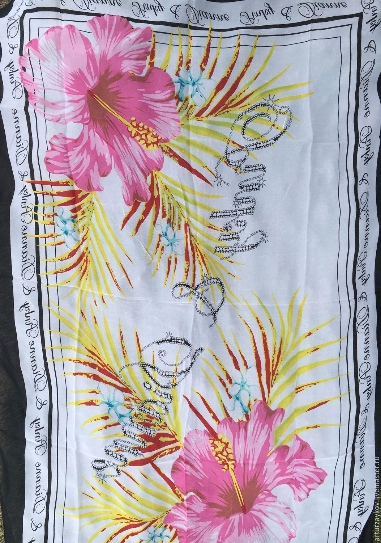 Валяние ручной работы. Ярмарка Мастеров - ручная работа. Купить Шелковый палантин Лилии. Handmade. Валяние, шарф, валяный палантин