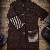 "Одежда ручной работы. Ярмарка Мастеров - ручная работа Пальто ""The Chocolate Dream"". Handmade."