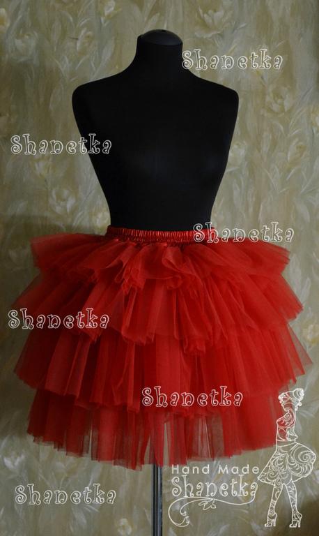 купить юбку пачку, юбку из фатина для взрослых в Москве.