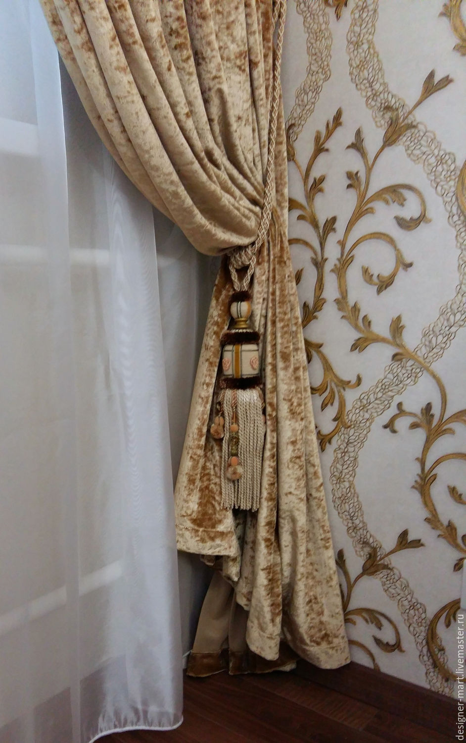 Design Velvet Curtains buy gold velvet curtains for living room on livemaster online shop home textiles carpets handmade living