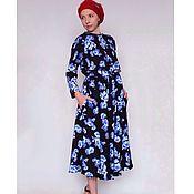 """Одежда ручной работы. Ярмарка Мастеров - ручная работа Яркое платье """"Амели"""". Handmade."""