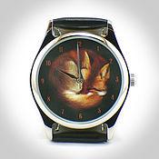 """Украшения ручной работы. Ярмарка Мастеров - ручная работа Часы наручные  """"Лисичка"""". Handmade."""