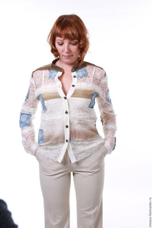 """Блузки ручной работы. Ярмарка Мастеров - ручная работа. Купить Ажурная бохо- блузка """"Любимый бохо"""". Handmade. Блузка, кружево"""
