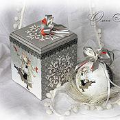Подарки к праздникам handmade. Livemaster - original item Christmas set