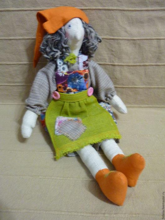 Сказочные персонажи ручной работы. Ярмарка Мастеров - ручная работа. Купить Текстильная кукла Ведьма. Handmade. Комбинированный, ведьма, поларок