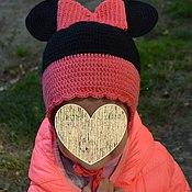 """Работы для детей, ручной работы. Ярмарка Мастеров - ручная работа Шапка """"Минни Маус"""" для девочки. Handmade."""