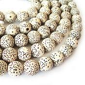 Материалы для творчества handmade. Livemaster - original item The beads are Lotus seeds 10mm. Handmade.