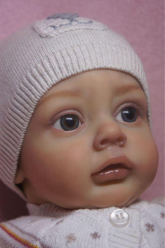 Куклы-младенцы и reborn ручной работы. Ярмарка Мастеров - ручная работа. Купить Эмилия. Handmade. Кукла, подарок на новый год, винил