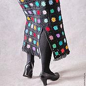 Одежда ручной работы. Ярмарка Мастеров - ручная работа Юбка тёплая крючком.. Handmade.