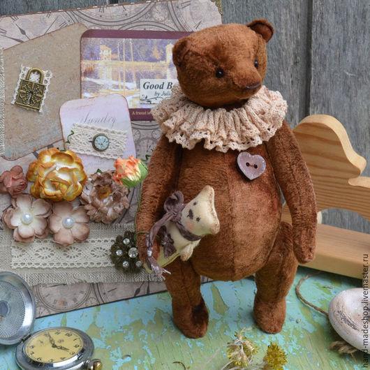 Мишки Тедди ручной работы. Ярмарка Мастеров - ручная работа. Купить мишка тедди Брауни. Handmade. Коричневый, шоколад