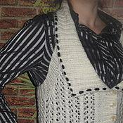 Одежда ручной работы. Ярмарка Мастеров - ручная работа жилет Классика. Handmade.