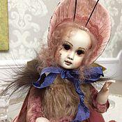 Куклы и игрушки ручной работы. Ярмарка Мастеров - ручная работа Мотылёк тедди-долл.. Handmade.