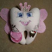 Мягкие игрушки ручной работы. Ярмарка Мастеров - ручная работа Зубная фея. Handmade.