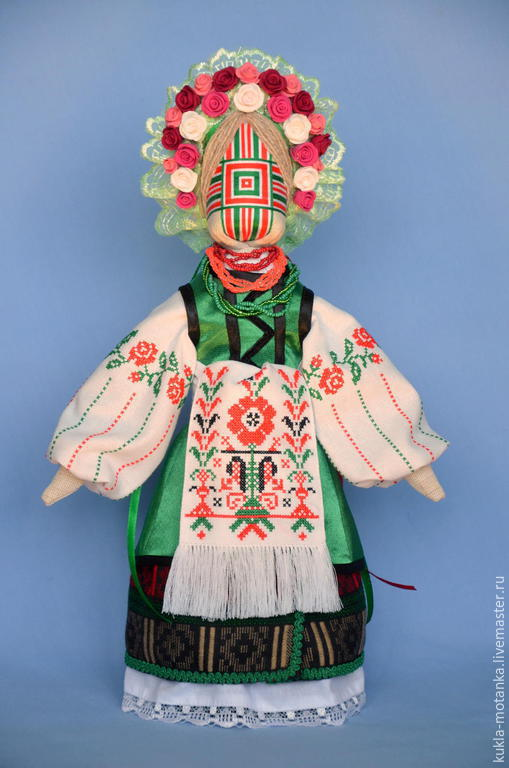 Народные куклы ручной работы. Ярмарка Мастеров - ручная работа. Купить Кукла-мотанка. Handmade. Разноцветный, бязь, мулине