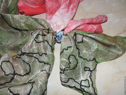 Шарфы и шарфики ручной работы. Ярмарка Мастеров - ручная работа. Купить Шарф паутинка. Handmade. Комбинированный, шарф в подарок, 8марта