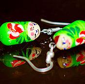 Earrings handmade. Livemaster - original item earrings. Handmade.
