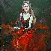 Картины и панно ручной работы. Ярмарка Мастеров - ручная работа Фламенко. Handmade.
