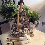 Куклы и игрушки ручной работы. Ярмарка Мастеров - ручная работа Тильда в английском стиле. Handmade.